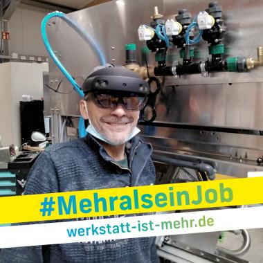 BAG WfbM_Kampagne Mehr als ein Job_Hololens